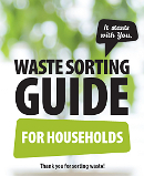 Waste sorting guide for households