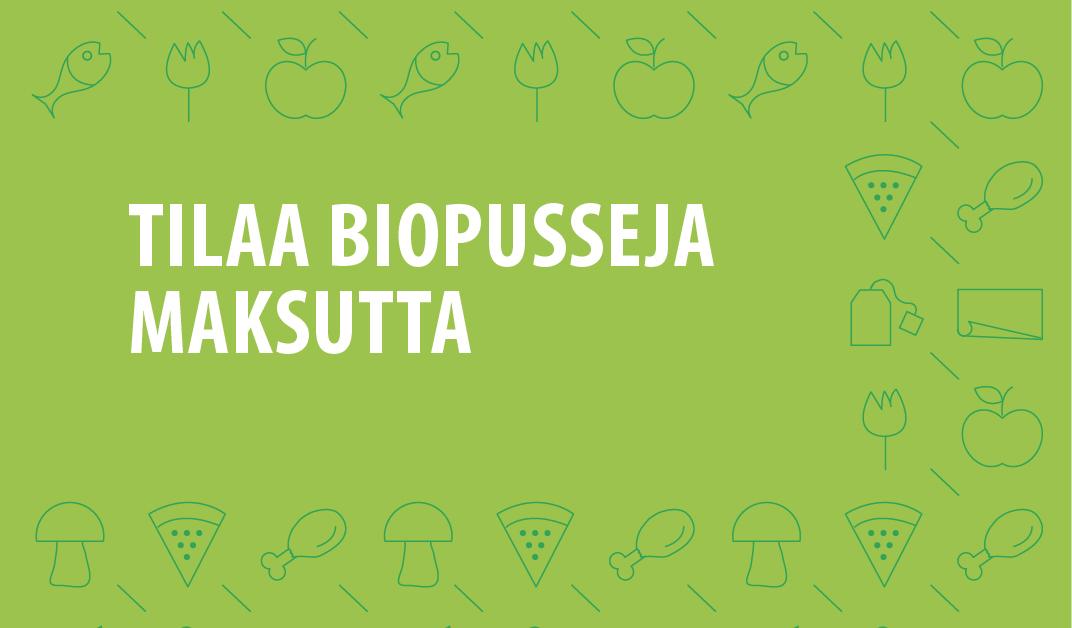Jätekukko Biopussit
